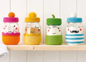 Idee di decorazione delle lattine da cucina.