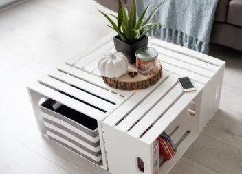 Pallet di legno nel vostro interno. 30 foto-idee