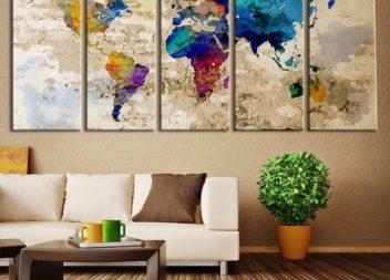 Scopri 20 design fantastici della stanza con la mappa
