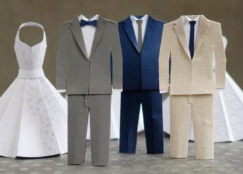 Idee di carta per le decorazioni del matrimonio