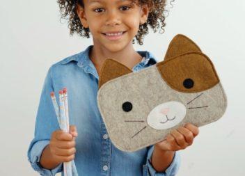 Come realizzare un astuccio alla moda per bambini fatto a mano