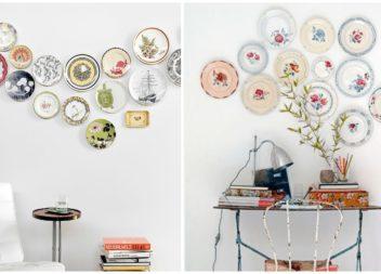 Piatti decorativi per interni. 20 foto-idee