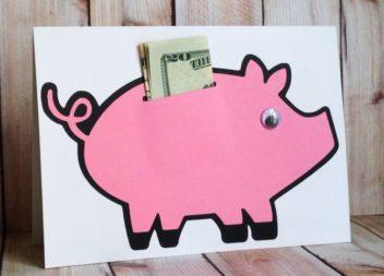 12 idee per come regalare del denaro in modo originale. Foto
