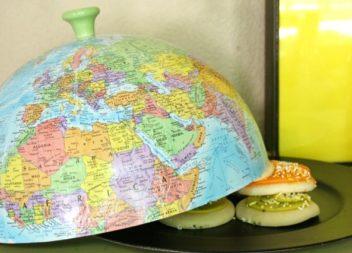 15 idee originali per utilizzare un vecchio globo