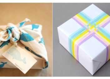 8 modi originali per incartare un regalo