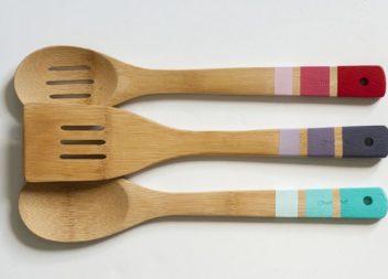 Palette di legno e cucchiai: diamo un nuovo respiro