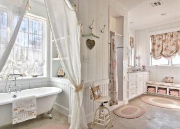 Bagno in stile provenzale. 25 foto
