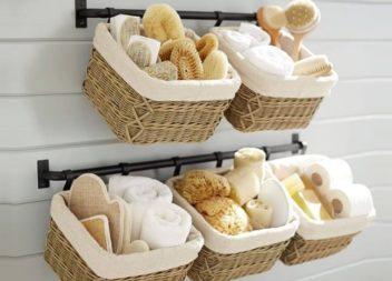 40 idee per organizzare lo spazio nella stanza da bagno