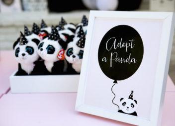 """Idee per una festa nello stile del """"panda"""". Foto"""