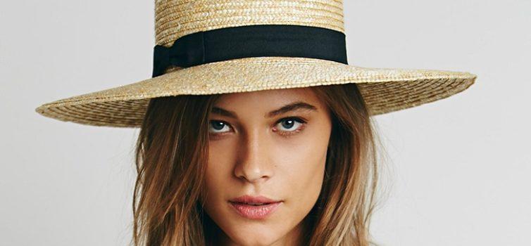 Cappelli di paglia di moda. 10 foto