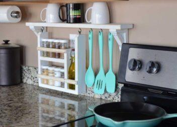 20 idee pratiche per organizzarsi in cucina