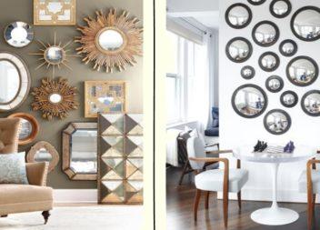 Lo specchio nell'interno. 35 idee