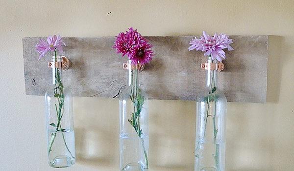 30 idee delle decorazioni fatte dalle bottiglie per il vino