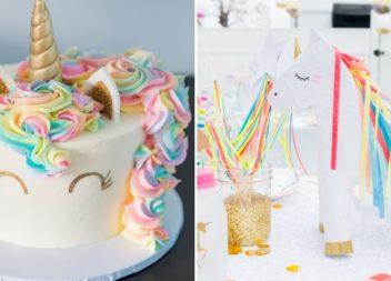 """Compleanno per bambini in stile """"Unicorno"""". Dettagli ed arredamento"""
