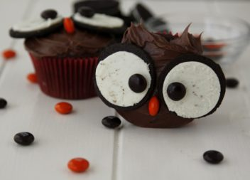 Cupcakes gufetto. Idee ed il master-class
