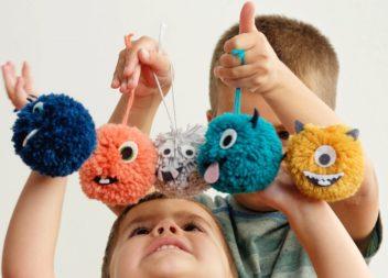 20 giocattoli con pompon facili da fare con le proprie mani