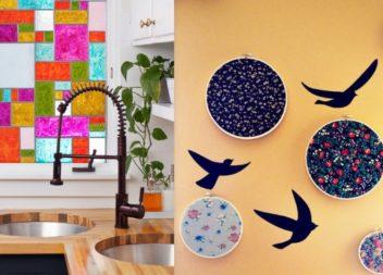 45 modi per decorare il muro nell'appartamento