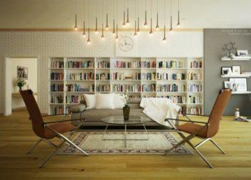 Come organizzare la libreria di casa: 27 foto-idee