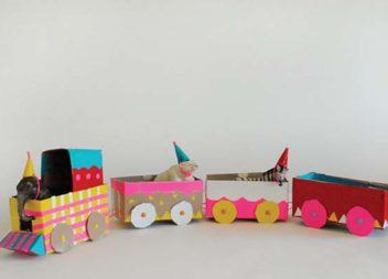 21 idee su giocattoli di cartone