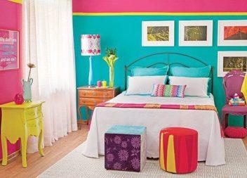 Interni multicolor: 20 esempi di stile