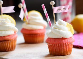 I cupcake deliziosi per la festa della mamma