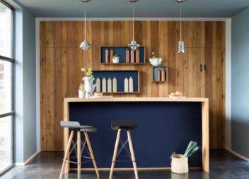 Ispirazione con il colore: blu scuro