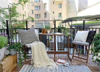 23 idee per arredare balconi