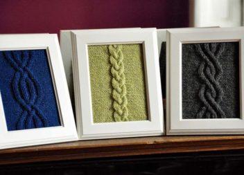 Arredi a maglia: idee moderne