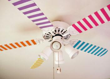 25 modi per creare decorazioni colorate con nastro adesivo