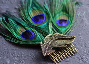Idee su decorazione di accessori e piume: 20 foto-idee