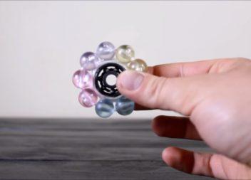 Spinner fatto a mano: video master-class