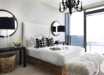Pelliccia come decorazione per interni: 18 idee