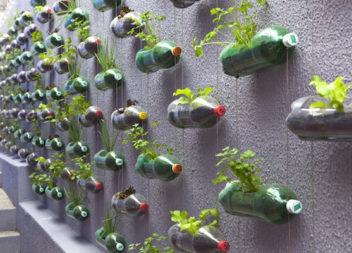 20 idee per trasformare la roba vecchia nelle cose per il giardino