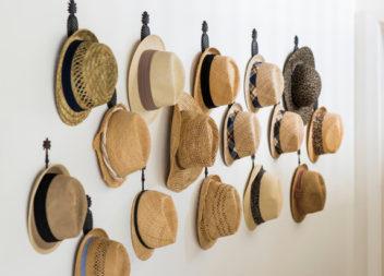 16 idee su organizzazione berretti e cappelli