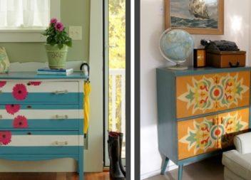 28 foto-idee su decorazione del cassettone