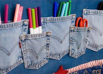 20 modi per trasformare i vecchi jeans in cose straordinarie