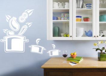 Decorazioni murali da cucina: 20 idee
