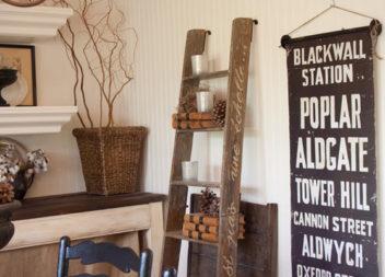 28 idee su come trasformare la scala di legno per mobili di casa e giardino