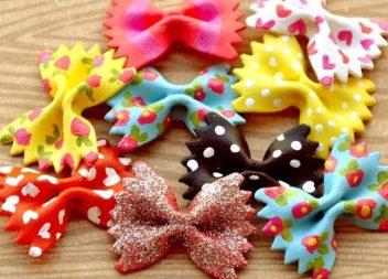 Idee su pasta con colorante alimentare: master-class+idee creaive con bambini