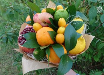 Idee su fiori di frutta: master-class