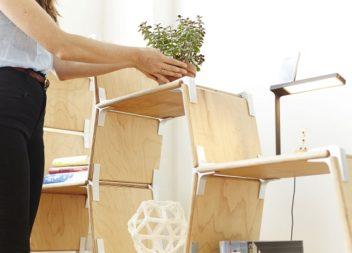Mobili modulari: 15 idee per piccola camera