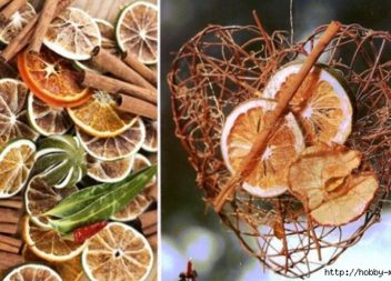 Decorazione con gli agrumi - 20 foto-idee