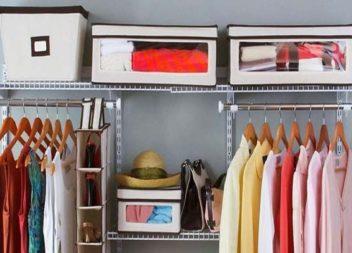 23 idee creative per tenere in ordine il vostro armadio