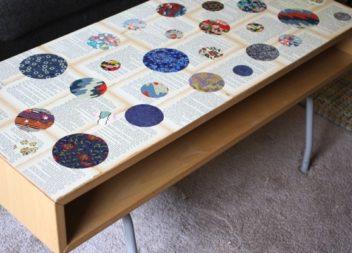 21 idee decorazioni con pagine di libri