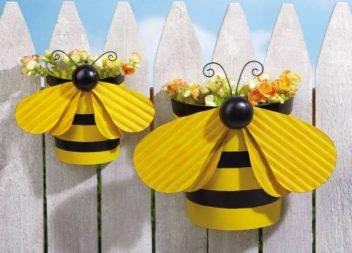 Idee su vasi di fiori decorati: 24 idee fantastiche