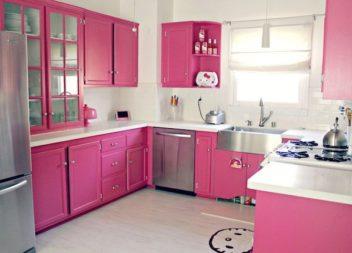 Ispirazione con il colore: rosa brillante