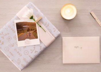 Come incartare il regalo per la festa della mamma: video master-class