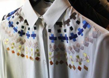 Decorazione camicia fatta a mano: 20 foto-idee