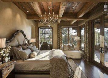Camera da letto in stile rustico: 20 esempi di stile