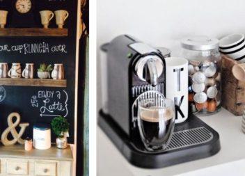 16 idee su angolo caffè in cucina